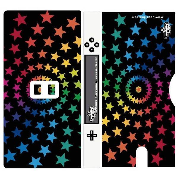 Coque 3D Nintendo DS Lite Star Black