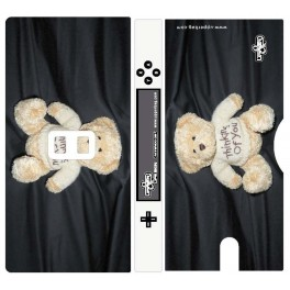Coque 3D Nintendo DS Lite Teddy Bear Love