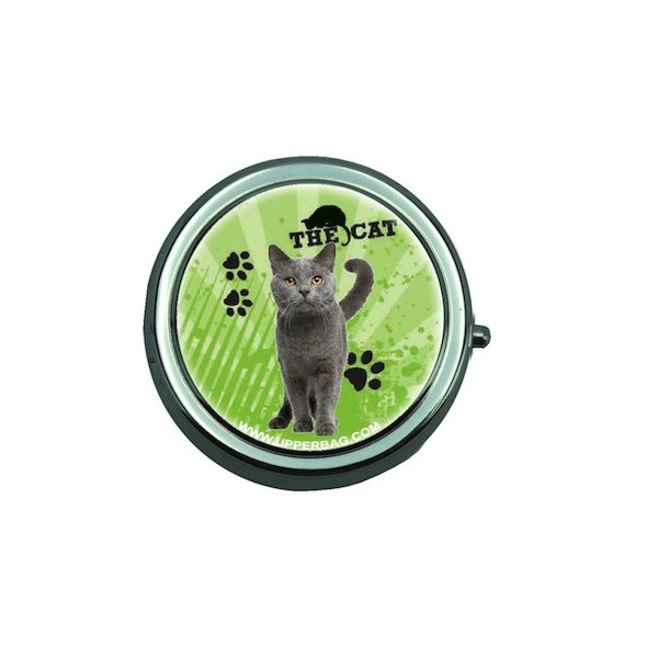 Cendrier de poche Love Little Cat Green