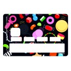 Sticker Credit Card Ben Sweety Black