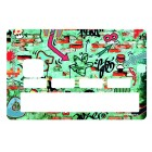 Sticker Credit Card Ben Urban Turquoise