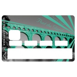Sticker CB Bridge Pont du Gard