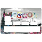 Sticker Credit Card Cities MOSCOU