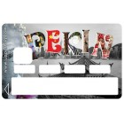 Sticker Credit Card Cities PEKIN