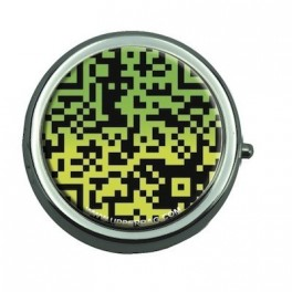 Smoking Ashtray QR Code Green