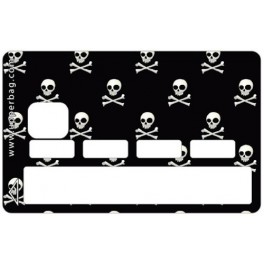 Sticker Credit Card Danger Black