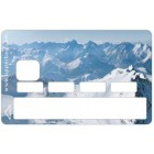 Sticker Credit Card Earth Snow