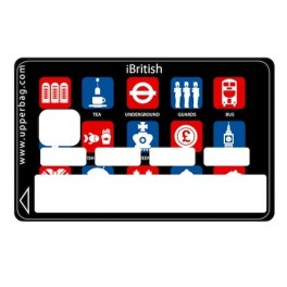 Sticker Credit Card iBritish