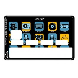 Sticker Credit Card iMusic
