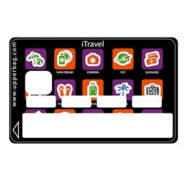 Sticker Credit Card iTravel