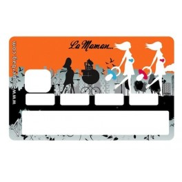 Sticker Credit Card La Maman