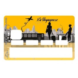 Sticker Credit Card La Voyageuse