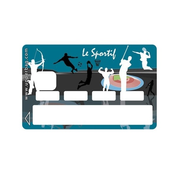 Sticker Credit Card Le Sportif
