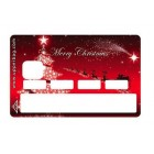 Sticker Credit Card Merry Christmas