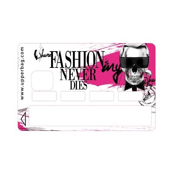 Sticker Credit Card Moatti Karl Fashion Pink