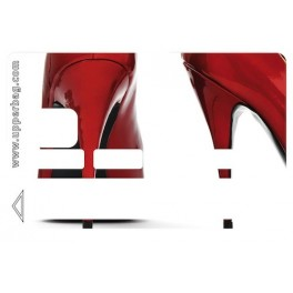 Sticker CB Shoes Red