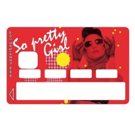 Sticker Credit Card So Pretty Girl