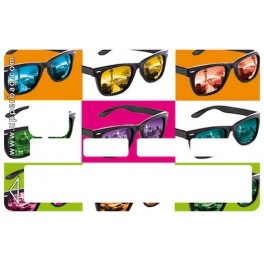 Sticker CB Sunglasses As Warhol