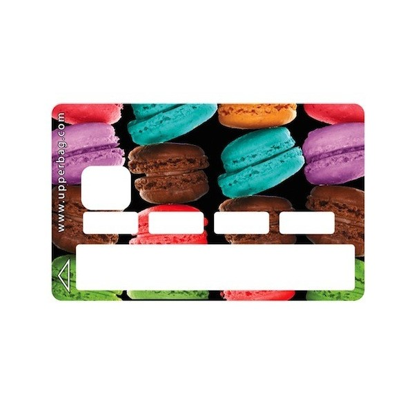 Sticker Credit Card Sweety Big Macarons