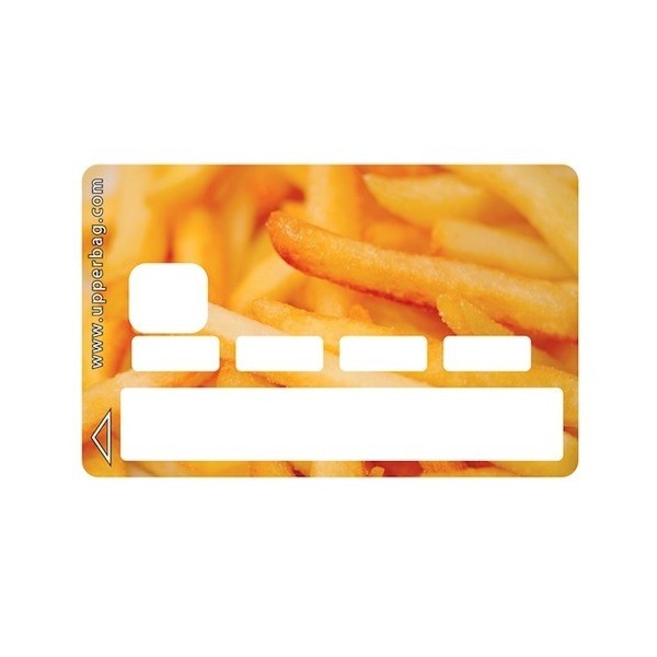 Sticker Credit Card Sweety French Fries