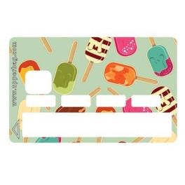 Sticker Credit Card Sweety Ice Cream
