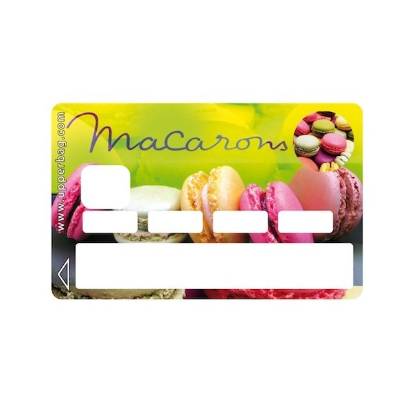 Sticker Credit Card Sweety Macarons 2