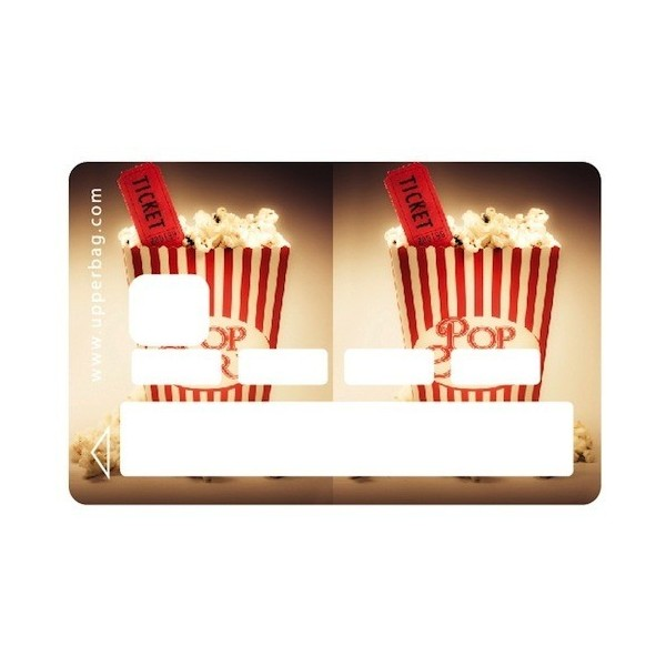 Sticker Credit Card Sweety Pop Corn