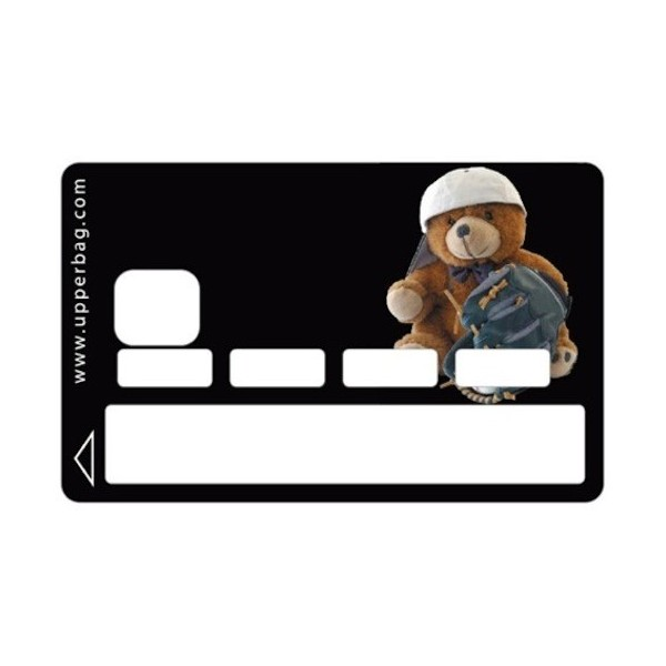 Sticker CB Teddy Bear Sport