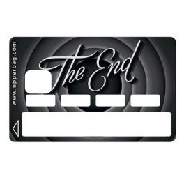 Sticker Credit Card The End Black