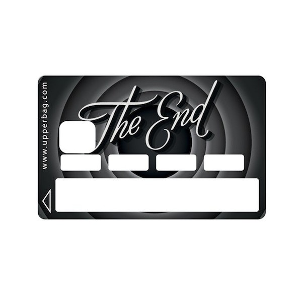 Sticker CB The End Black