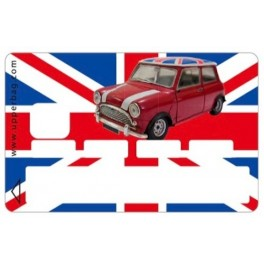 Sticker CB UK Flag & Mini