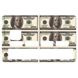 Sticker CB USA Dollars