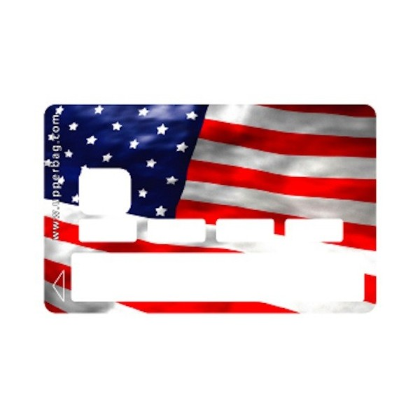 Sticker CB USA Flag