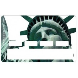 Sticker CB USA NY Liberty