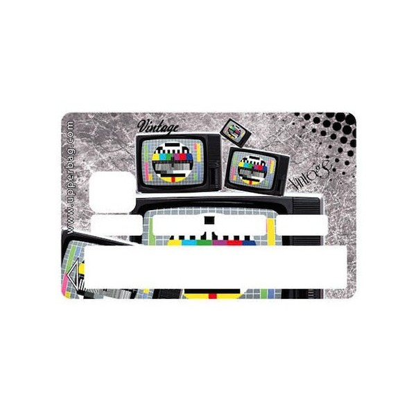 Sticker CB Vintage TV
