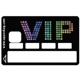 Sticker Credit Card VIP Multi