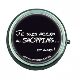 Pill Box with Mirror Accro Au Shopping