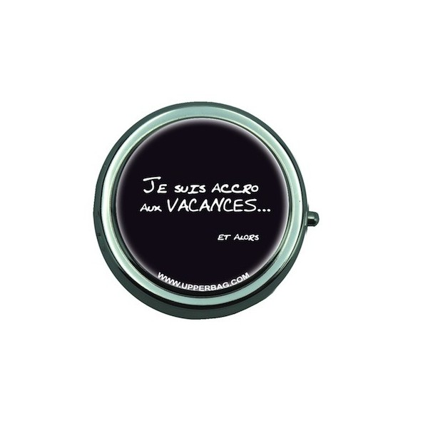 Pill Box with Mirror Accro Aux Vacances