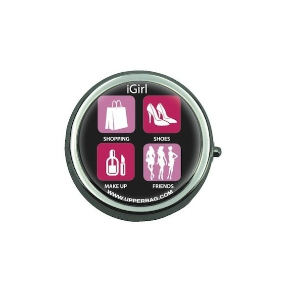 Pill Box with Mirror iGirl