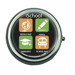 Pill Box with Mirror iSchool