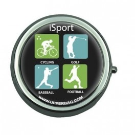 Pill Box with Mirror iSport
