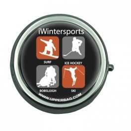 Pill Box with Mirror iWintersports