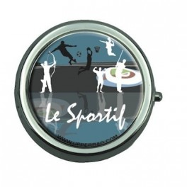 Pill Box with Mirror Le Sportif