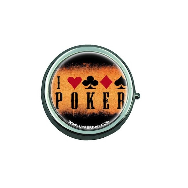 Pill Box with Mirror Poker 1