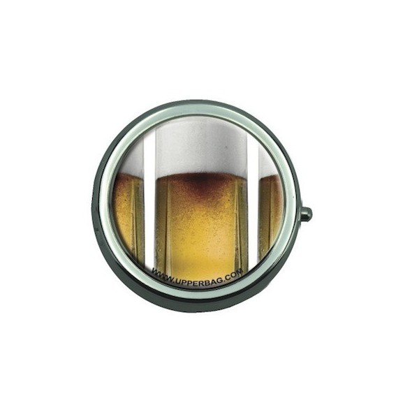Pill Box with Mirror Sweety Beer