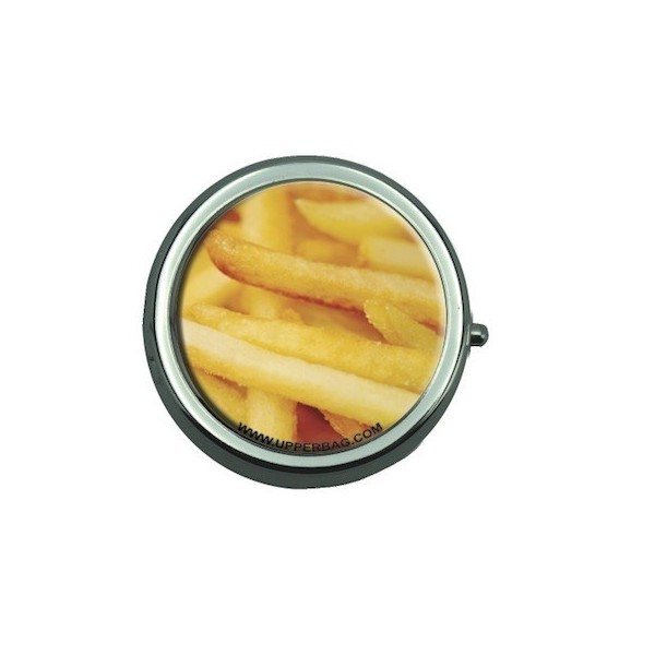 Pill Box with Mirror Sweety French Fries