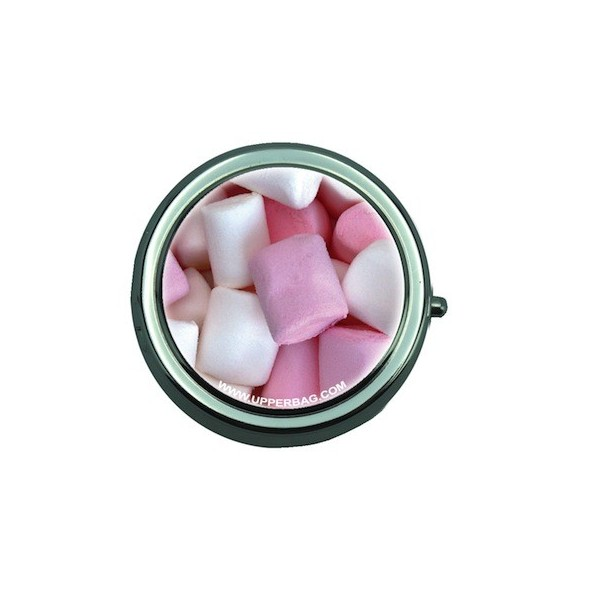 Pill Box with Mirror Sweety Mallow