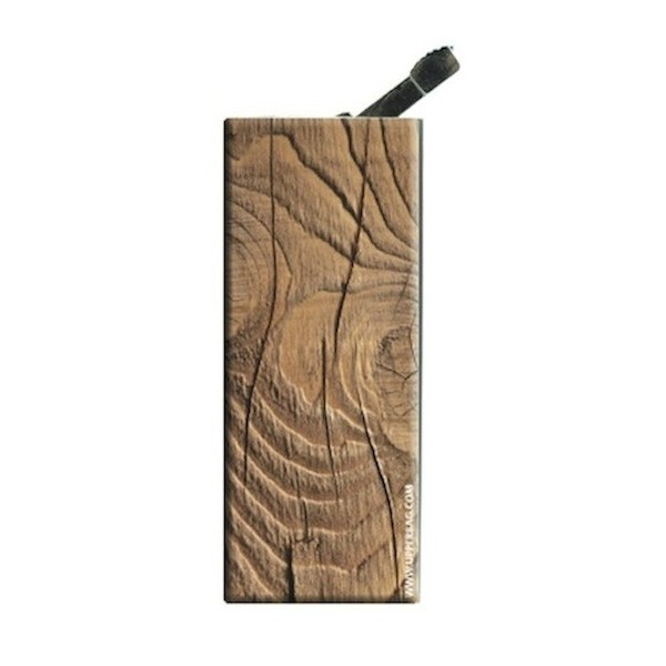 Lighter with clip Earth Wood