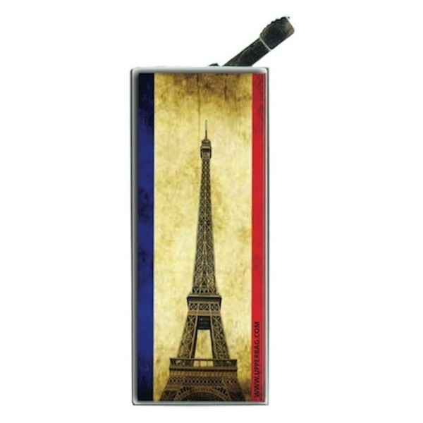 Lighter with clip French Flag Vintage