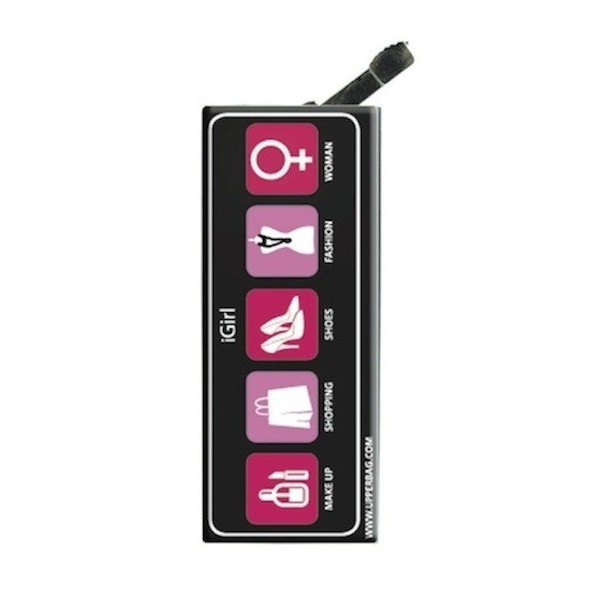 Lighter with clip iGirl